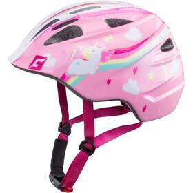 Cratoni Akino Helmet Kinder einhorn pink glanz